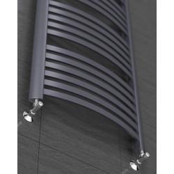 Czarny mat Grzejnik łazienkowy Classic 1150x670