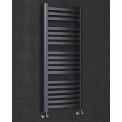Grzejnik łazienkowy Classic 1550x470 Czarny mat