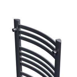 1550x470 Grzejnik łazienkowy Classic  Czarny mat