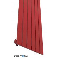 Grzejnik dekoracyjny 180x45 Bello Czerwony