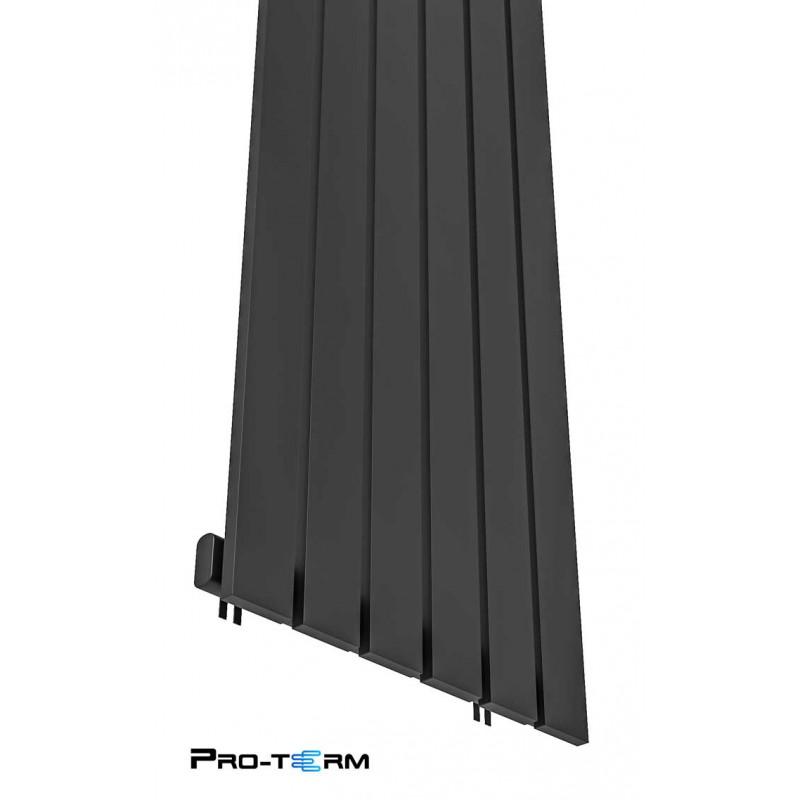 Grzejnik dekoracyjny 140x45 Czarny Mat Bello niska cena