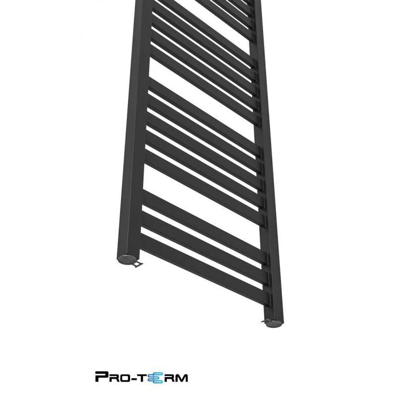 Grzejnik łazienkowy Royal 950x530 - Czarna struktura