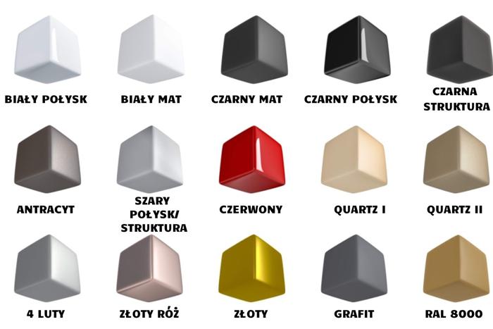 kolory grzejników pro-term